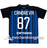 FC Inter Milan Home 2017/2018 Replica Jersey Candreva 87
