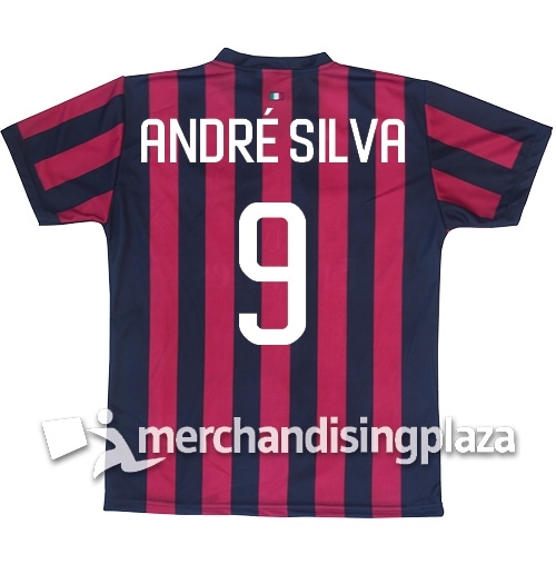 huge sale 02202 c5051 AC Milan Home 2017/2018 Replica Jersey André Silva 9