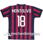 AC Milan Home 2017/2018 Replica Jersey Montolivo 18