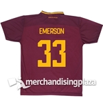 AS Roma Home 2017/2018 Replica Jersey Emerson 33