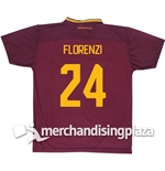 AS Roma Home 2017/2018 Replica Jersey Florenzi 24