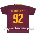 AS Roma 2017-2018 Home Replica Jersey El Shaarawy