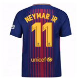 2017-2018 Barcelona Home Shirt (Neymar JR 11) - Kids