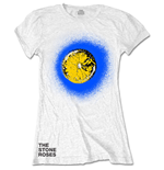The Stone Roses Ladies Tee: Lemon Blue