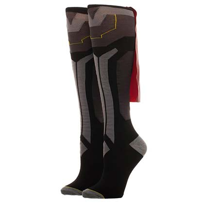 THOR Juniors Grey Knee High Cape Socks
