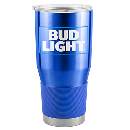 BUD LIGHT 30 Oz Metal Tumbler Cup
