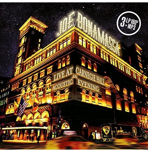 Vynil Joe Bonamassa - Live At Carnegie Hall - An Acoustic Evening (3 Lp)
