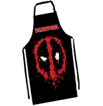 Deadpool Apron Face