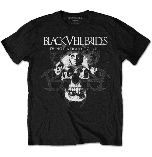 Black Veil Brides Men's Tee: I'm Not Afraid To Die