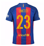 2016-17 Barcelona Home Shirt (Umtiti 23) - Kids