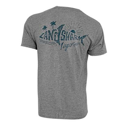 LANDSHARK Lager Grey Shark Tee Shirt