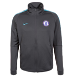 2017-2018 Chelsea Nike Authentic Track Jacket (Anthracite)