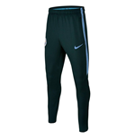 2017-2018 Man City Nike Squad Training Pants (Outdoor Green) - Kids