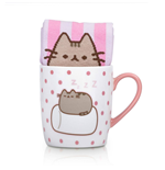 Pusheen Sock in a Mug Marshmallow