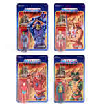 Masters of the Universe ReAction Action Figures 10 cm Wave 1 Assortment (4)