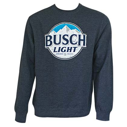 BUSCH Light Navy Crewneck Sweatshirt