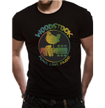 Woodstock - Colour Logo - Unisex T-shirt Black