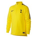 2017-2018 Tottenham Nike Drill Training Top (Opti Yellow)