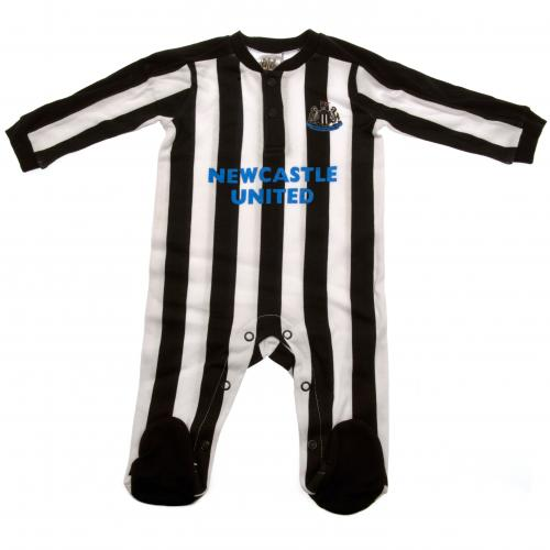 Newcastle United F.C. Sleepsuit 6/9 mths ST