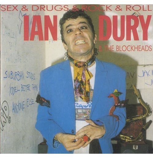Vynil Ian Dury - Sex & Drugs & Rock N' Roll