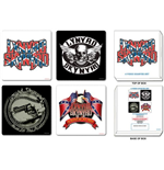 Lynyrd Skynyrd - Mixed Designs Set 4 Coasters