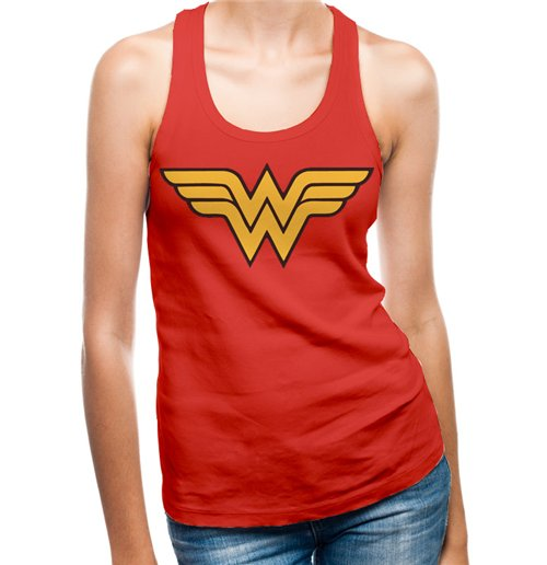 3904dc04dc5f7 Official Wonder Woman Tank Top 277913  Buy Online on Offer