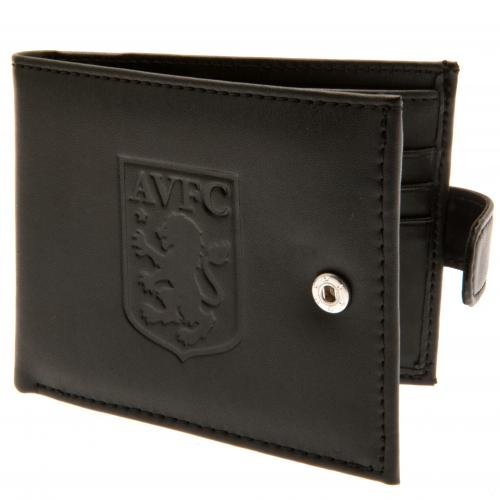 Aston Villa F.C. rfid Anti Fraud Wallet