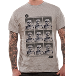 Star Wars - Trooper Yearbook - Unisex T-shirt Grey