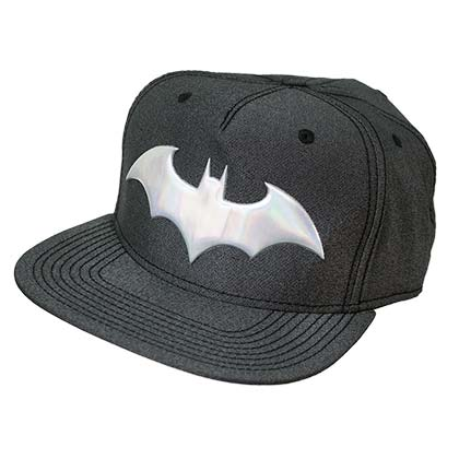 BATMAN Iridescent Grey Snapback Hat