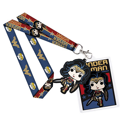 WONDER WOMAN Funko Pop Lanyard