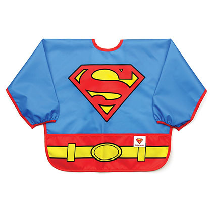 SUPERMAN Costume Sleeved Bib