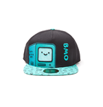 Adventure Time - BMO Snapback With Embroidery And Printed Bill