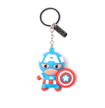 Captain America - Character 3D Rubber Keychain