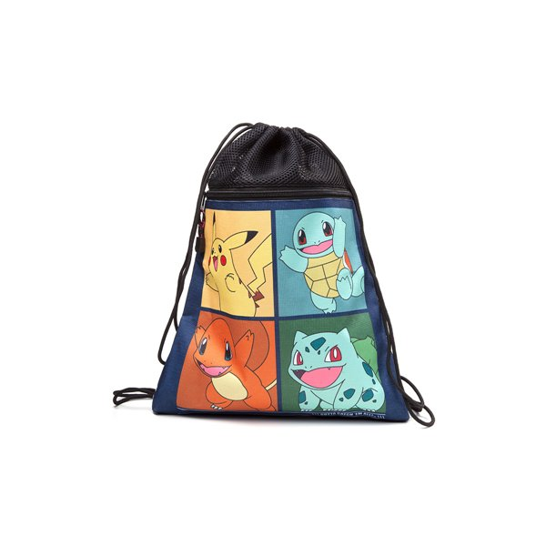Cartoon Characters Beginning With L : Pokemon starting characters gym bag for only c at