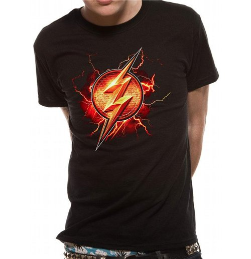 Justice League Movie T Shirt Flash Symbol For Only C 24