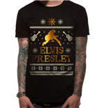 Elvis Presley - Fair Isle - Unisex T-shirt Black