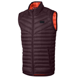 2017-2018 Barcelona Nike Authentic Down Vest (Maroon)