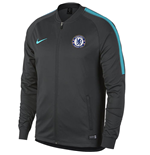2017-2018 Chelsea Nike Core Trainer Jacket (Anthracite)