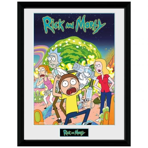 Rick And Morty Picture 16 x 12