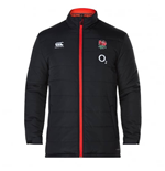 2017-2018 England Rugby Thermoreg Padded Jacket (Black)