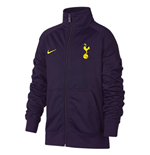 2017-2018 Tottenham Nike Core Trainer Jacket (Purple) - Kids