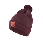 2017-2018 Barcelona Nike Bobble Hat (Night Maroon)