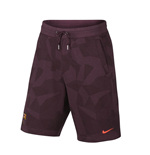 2017-2018 Barcelona Nike NSW Authentic Shorts (Night Maroon)