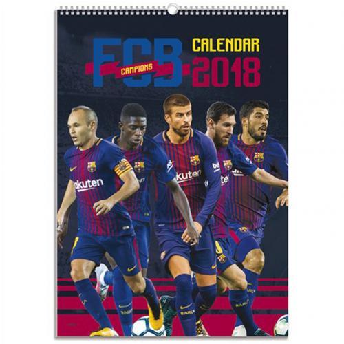 F C Barcelona Calendar 2018 For Only C 17 16 At