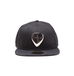 Fender - Black  Snapback With Metal Badge