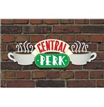 Friends Poster - Central Perk Brick - 61X91,5 Cm
