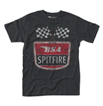 Bsa T-shirt Spitfire Flag