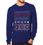 Dc Originals - Justice League Fair Isle - Unisex Sweatshirt Grey
