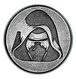 Star Wars Click Badge Kylo Ren