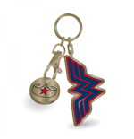 Wonder Woman Keychain - Stars Trolley Coin